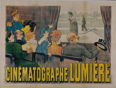 fin de siecle affiche - Cinématographe Lumière