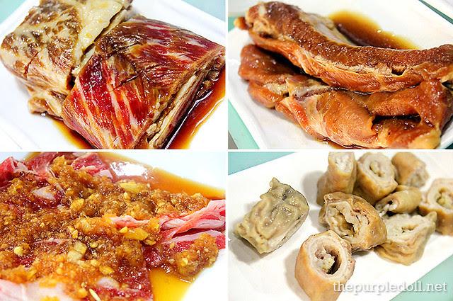 So Galbi, Deji Galbi, Masil Bulgogi and Mak Chang at Masil Charcoal Grill Restaurant