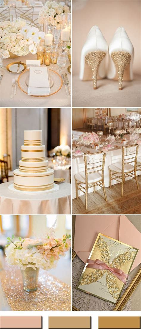 25  best ideas about Peach Gold Weddings on Pinterest