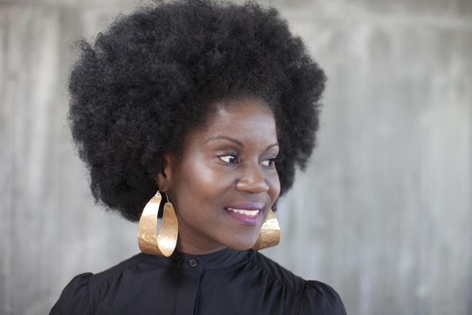 Karen Tappin of Brooklyn, N.Y., pictured earlier this month at International Natural Hair Meetup Day in Boston.