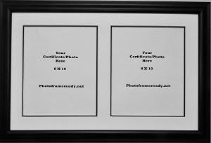 Graduation University Double 8x10 Certificates Documents Or Photo