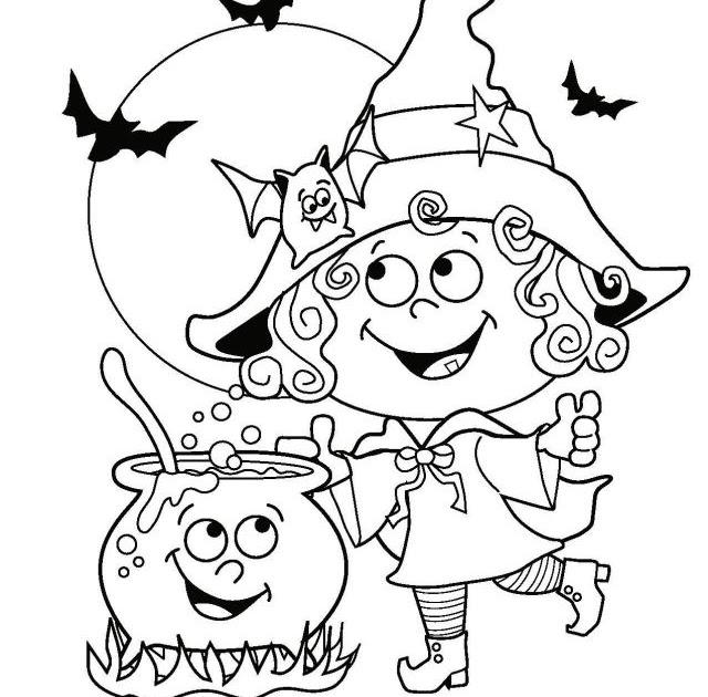 malvorlagen kostenlos halloween