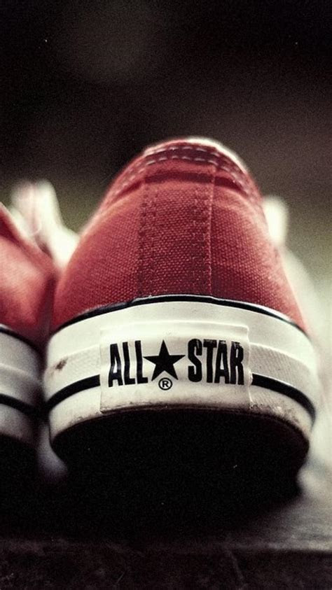 Shoes converse sneakers all star red wallpaper   (77600)