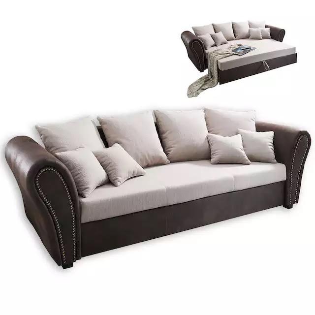 20% sparen - Big Sofa von ROLLER beige-braun - 399,99 ...