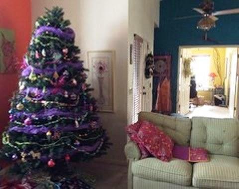 gambar dekorasi natal balon