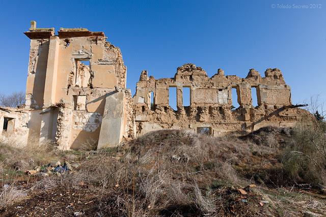 Palacio de la Sisla en 2012. Fotografía de David Utrilla para el proyecto Toledo Secreto © David Utrilla