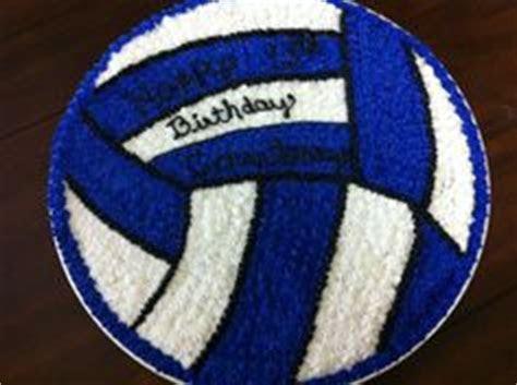 1000  ideas about Volleyball Birthday Cakes on Pinterest