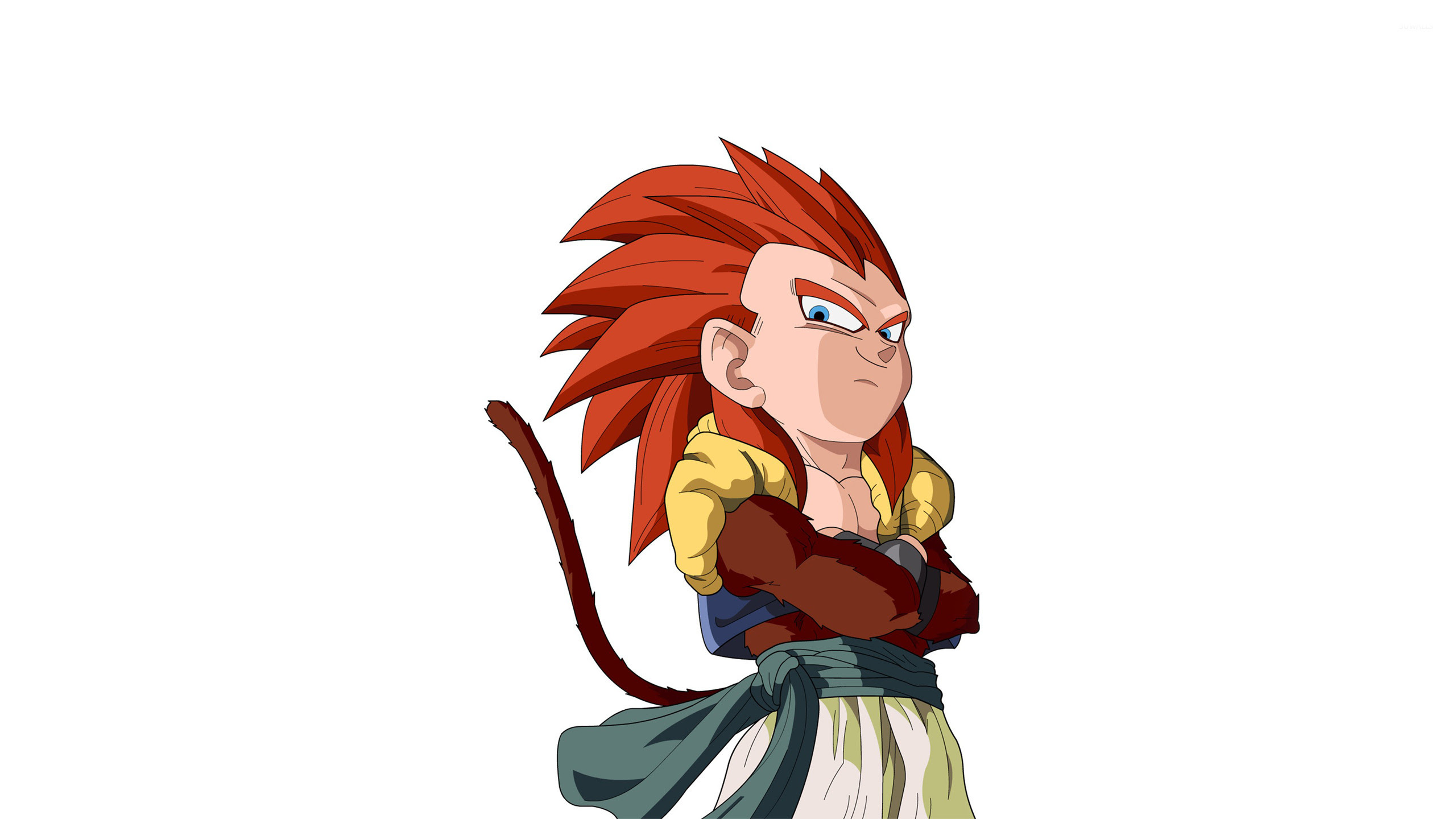 Gotenks Ssj4 Dragonball Gt Wallpaper 800976