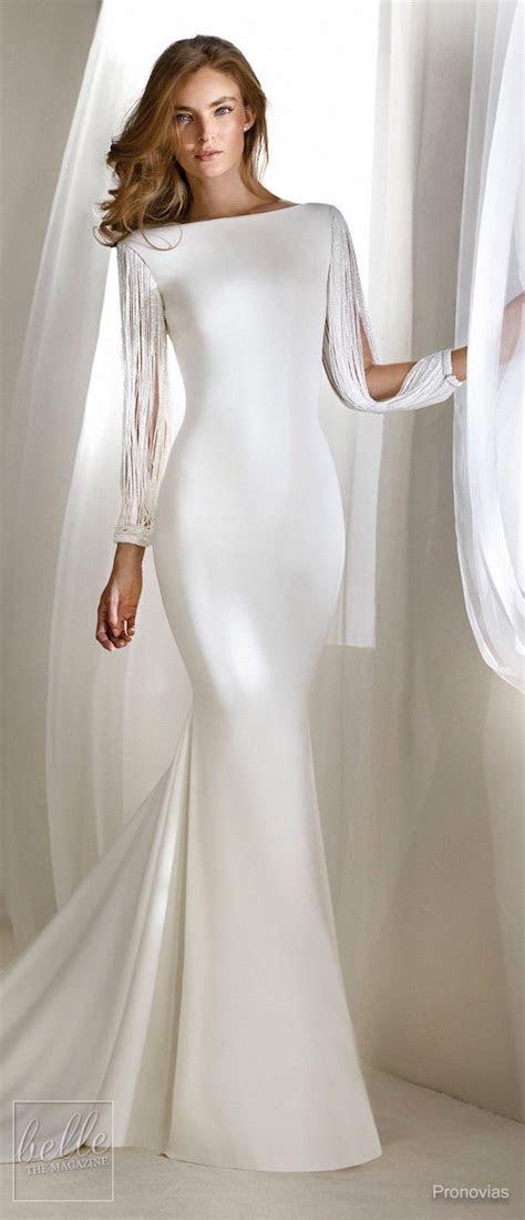 Simple Wedding Dresses Inspired by Meghan Markle   Belle