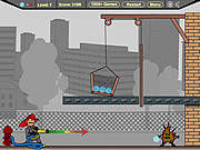 Jogar Firefighter cannon Jogos
