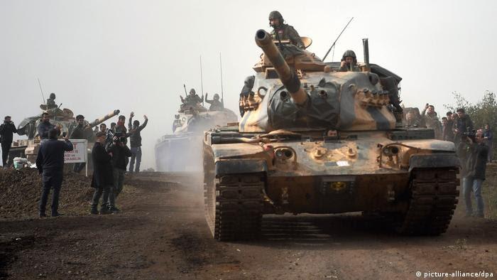 Syrien Türkische Offensive in Nordsyrien (picture-alliance/dpa)