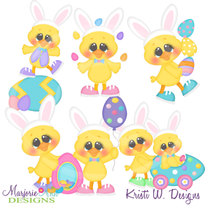 Easter Quack Ups Cutting Files-Includes Clipart