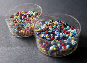 Multicolored Seed Bead Mixes