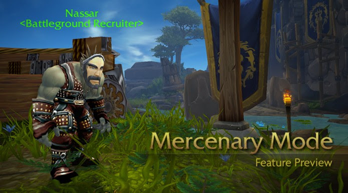 Mercenary Mode permite briga na mesma facção em WoW (Foto: Divulgação)