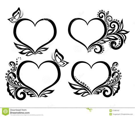 Wedding Heart Design Clipart ? 101 Clip Art