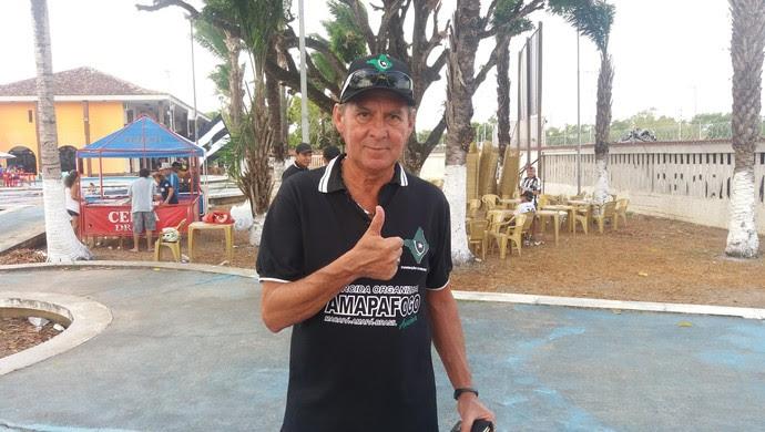 Mendonça, Botafogo, ex-jogador, Amapá (Foto: Rafael Moreira/GE-AP)