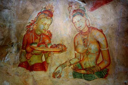 Les anges de Sigiriya