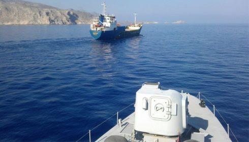 Κρήτη, πλοίο με όπλα