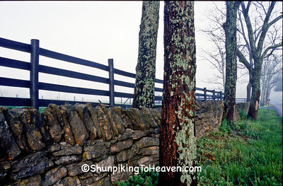 Dry Stone Fence, Scott County, Kentucky