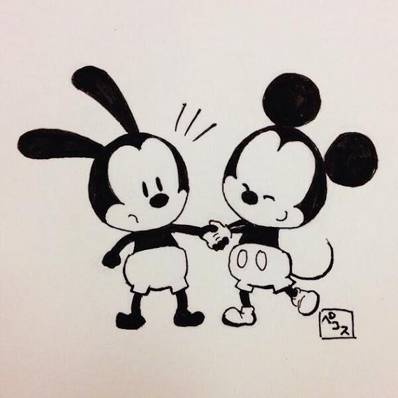 コレクション 可愛い 手書き ディズニー キャラクター イラスト