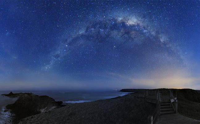Perierga.gr - Ο έναστρος ουρανός της Αυστραλίας