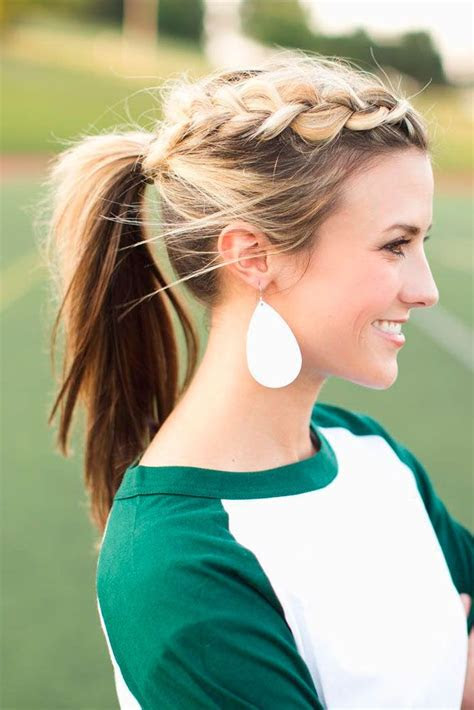ponytail hairstyles  girls  short  mid