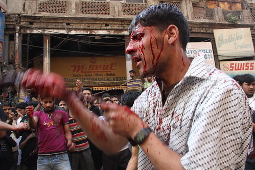 The Kashmiri Shias And Ghame Hussain Ashura Delhi 2013 by firoze shakir photographerno1