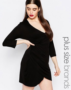 Plus size black evening dresses uk