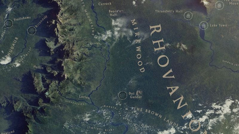 Explore Middle Earth On Google Maps