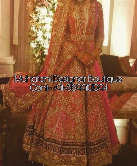 Designer Bridal Lehenga 2018   Maharani Designer Boutique