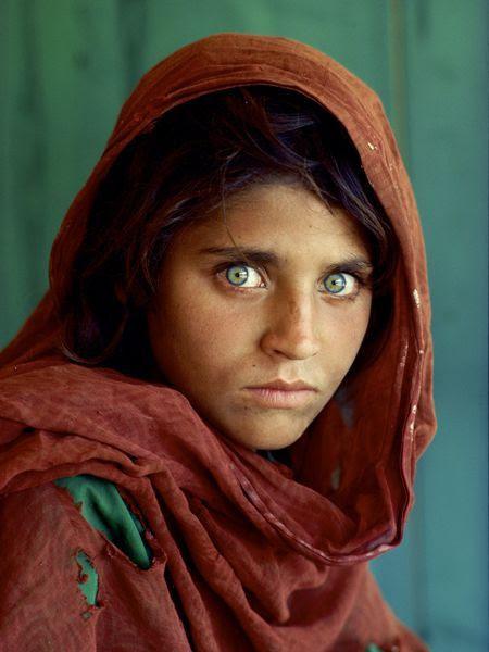 Afghan girl portrait