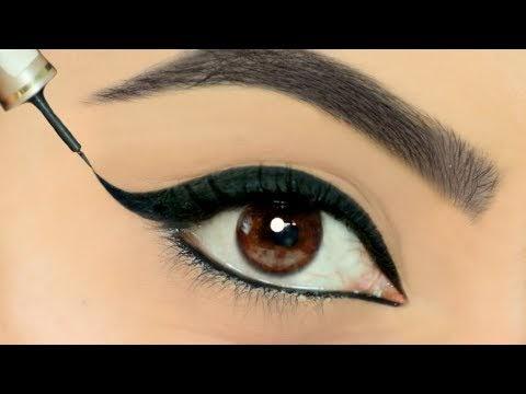 Eyeliner लगाते वक़्त क्या आपके हाथ कांपते है? Use This TRICK To Apply Perfect Wing Eyeliners