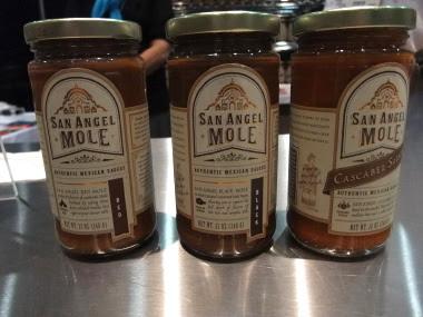 San Angel mole sauces