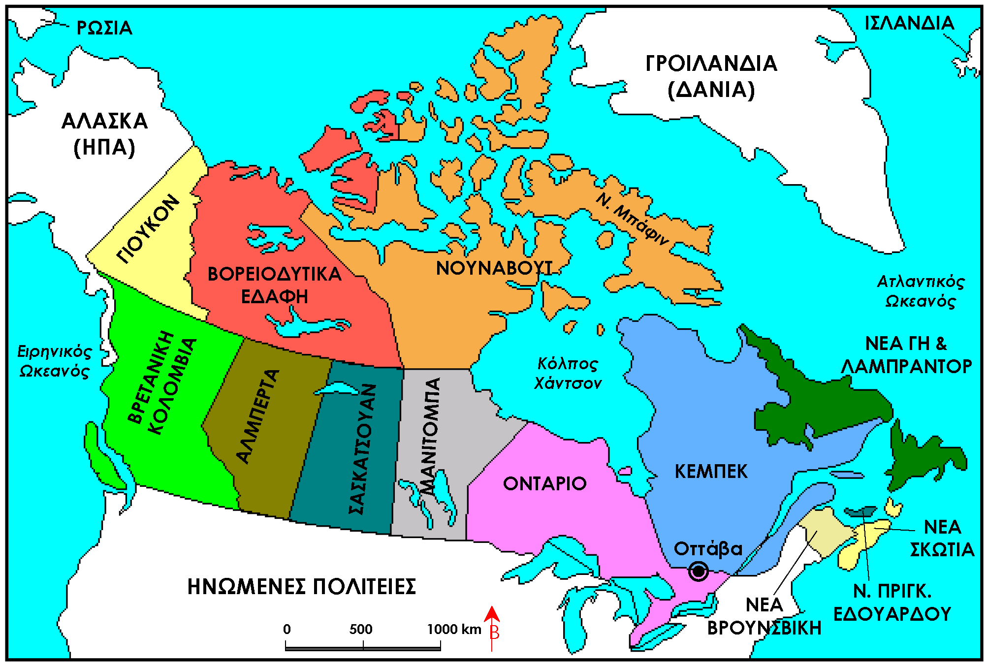 18 Inspirational Canada 39 S Map With Provinces And