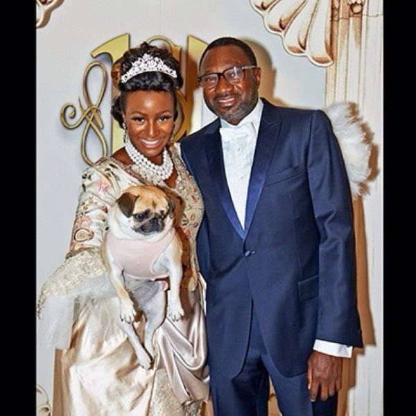 DJ Cuppy - Femi Otedola's Daughter - Marie Antoinette Party 16
