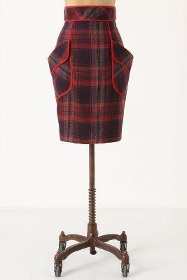 Anthropologie Glasbury Pencil Skirt
