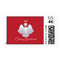 Christmas Angel Postage