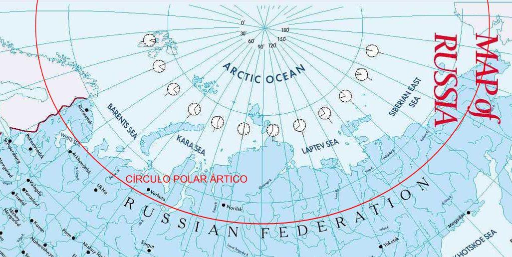 Costa Norte da Rússia