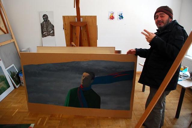 studio visit Zurab Gikashvili