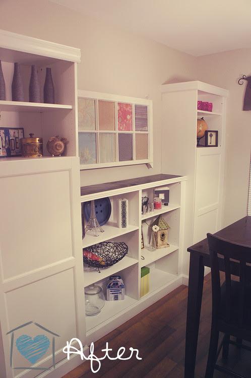 Best Ikea Besta Built-in ~ DelightCreativeHome