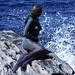live body-painted Little Mermaid statue hits Sydney