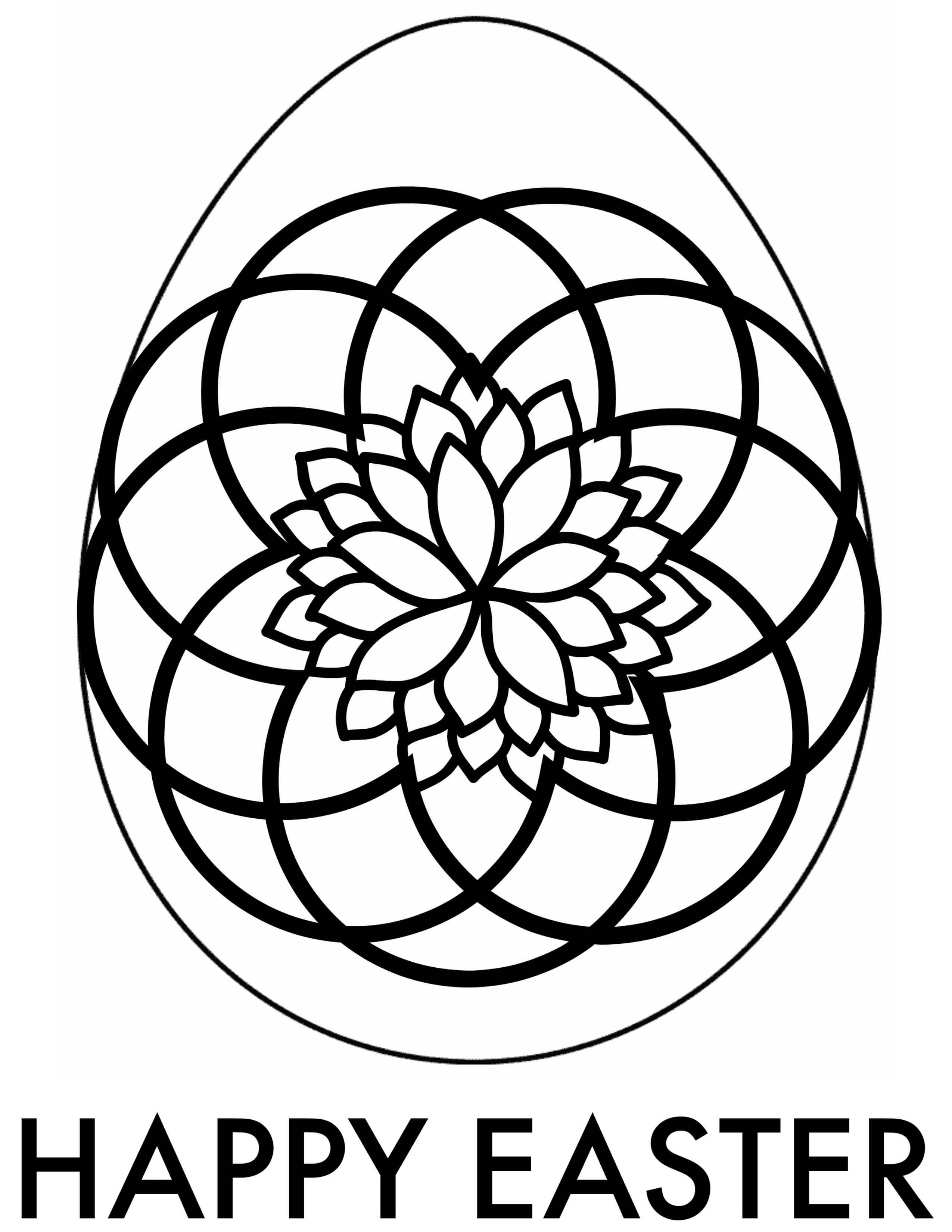 Easter Adult Coloring Pages | Free Printable Downloads