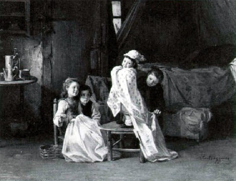 Children Playing Dress-up