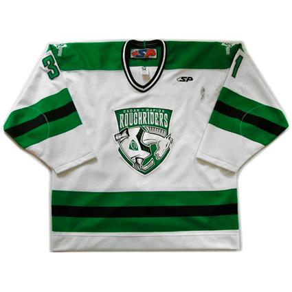 Cedar Rapids RoughRiders 07-08 jersey