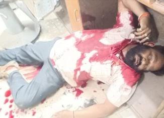ब्रेकिंग न्युज :- राजुरा येथे राजू यादव यांची अज्ञात इसमांनी सलून मध्ये गोळ्या झाडून केली हत्त्या.