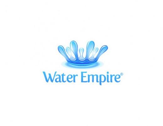 Water logo design blue drops icon ornament Free vector in ...
