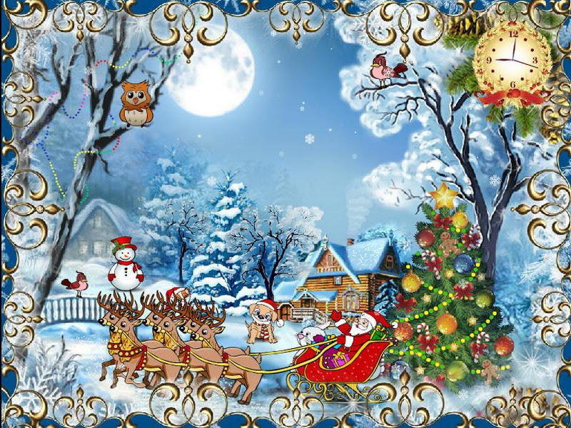 Christmas Cards Free Cristmas Screensaver