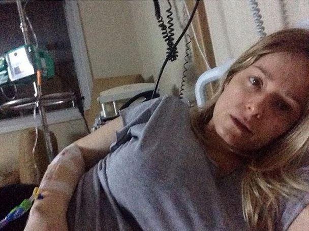 Atriz Luciana Vendramini doente