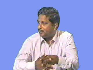 Durja Rao, Professor of Marine Geology.