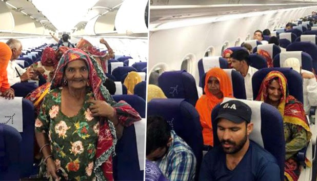 Punjab's pilot fulfills the dream of the elderly village residents by taking them to Amritsar by flight